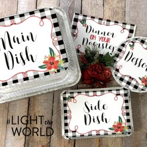 #LIGHTtheWORLD: Dinner on Your Doorstep Printables