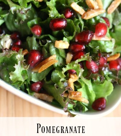you are here home amys recipes pomegranate christmas salad with pink poppyseed dressing