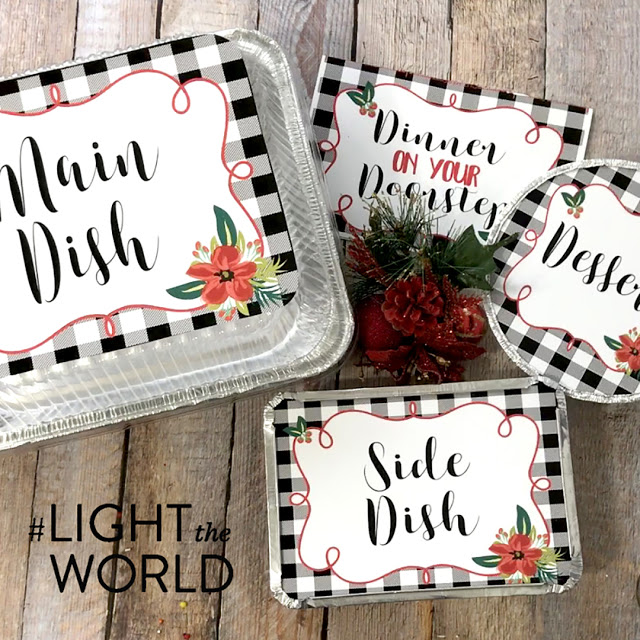 dinner on your doorstep printables