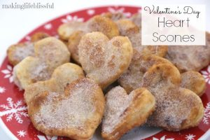 valentine heart scones 3