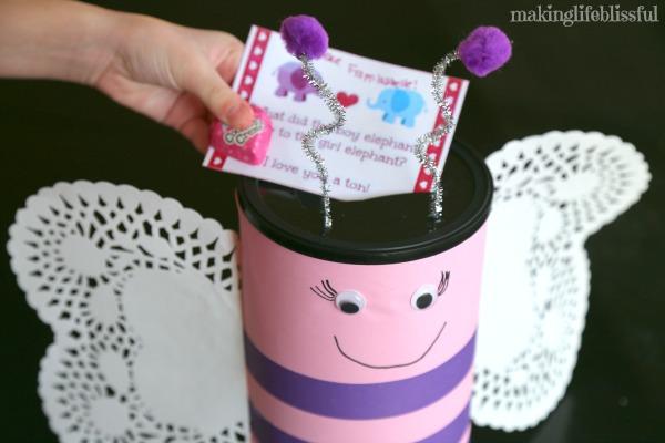 Valentine Butterfly Box Craft