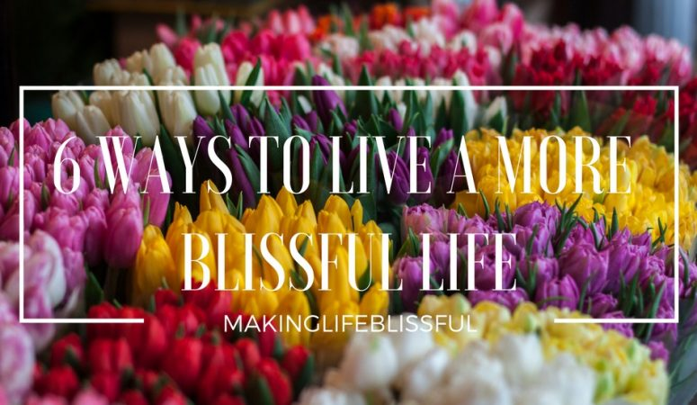 6 Ways to Live a More Blissful Life