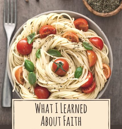 What I Learned About Faith While Boiling Spaghetti #PrinceOfPeace