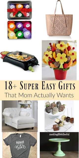 Super Easy Gift Ideas for Mom on Mother's Day
