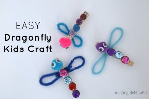 dragonfly clothespin craft 1