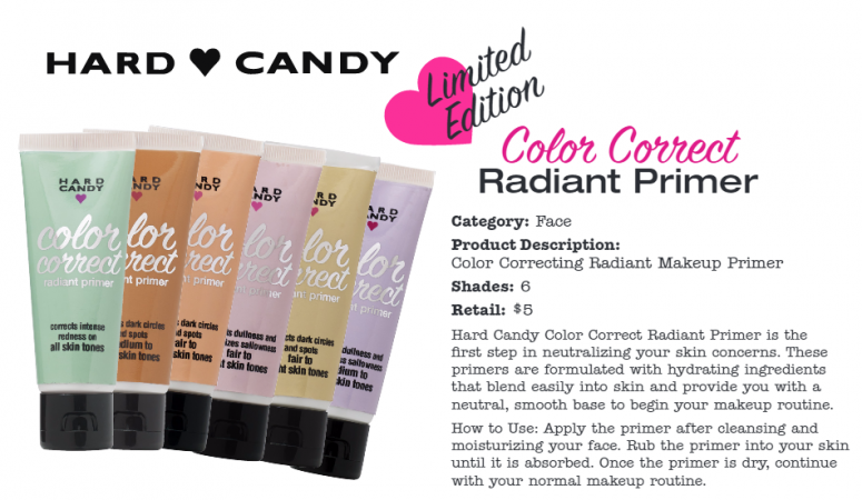 Hard Candy Color Correct Makeup Giveaway