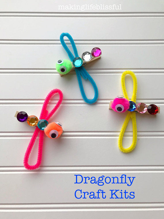 Dragonfly Craft Idea