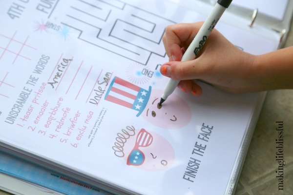 Free Patriotic Jokes and a 4th of July Printable Activity Pack
