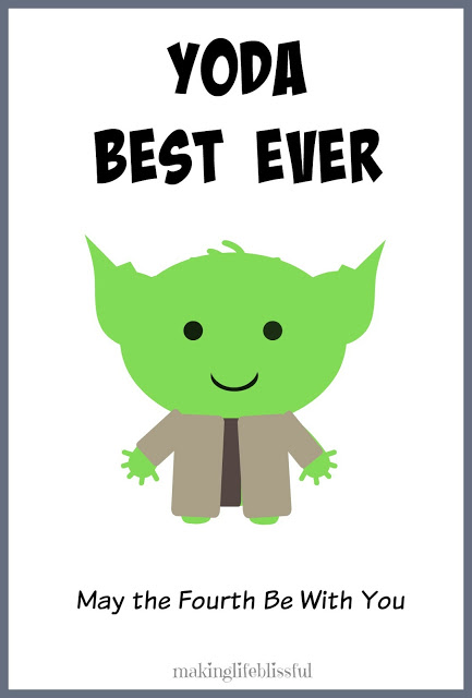 photograph about Star Wars Printable Cards referred to as Absolutely free YODA Simplest Father Star Wars Fathers Working day Printable Creating