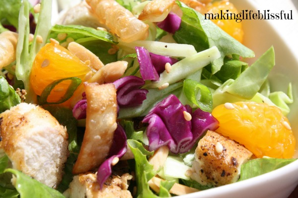 Mandarin Chinese Chicken Salad