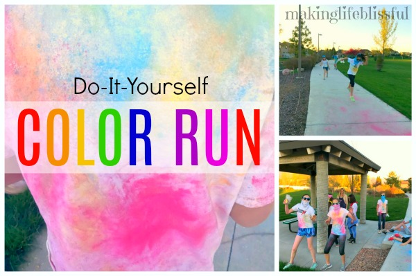 Do-It-Yourself Color Run