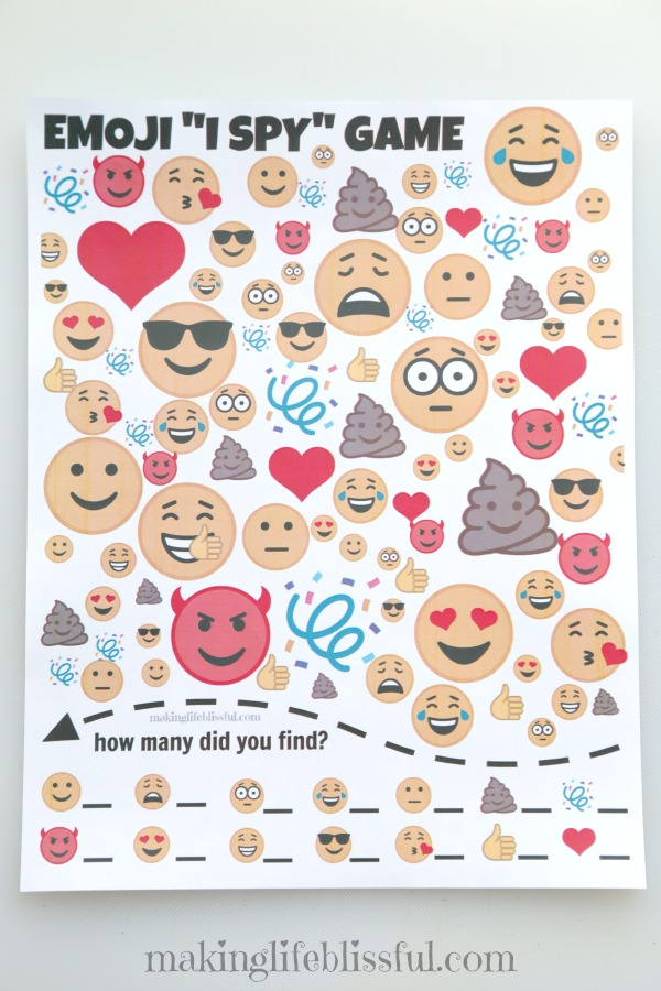 photograph relating to Printable Emoji Games called No cost Emoji Get together Printables Producing Lifestyle Blissful