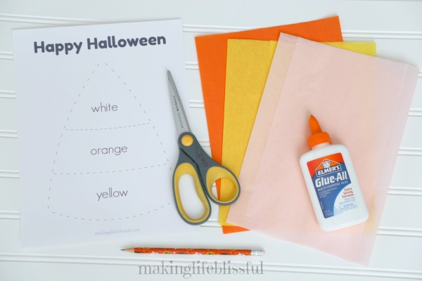 candy corn craft for kids