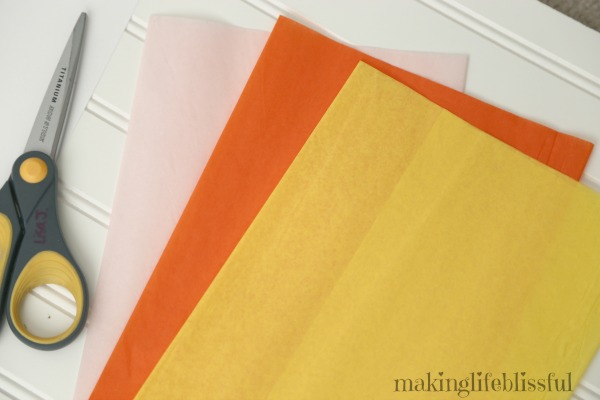 candy corn craft and printable