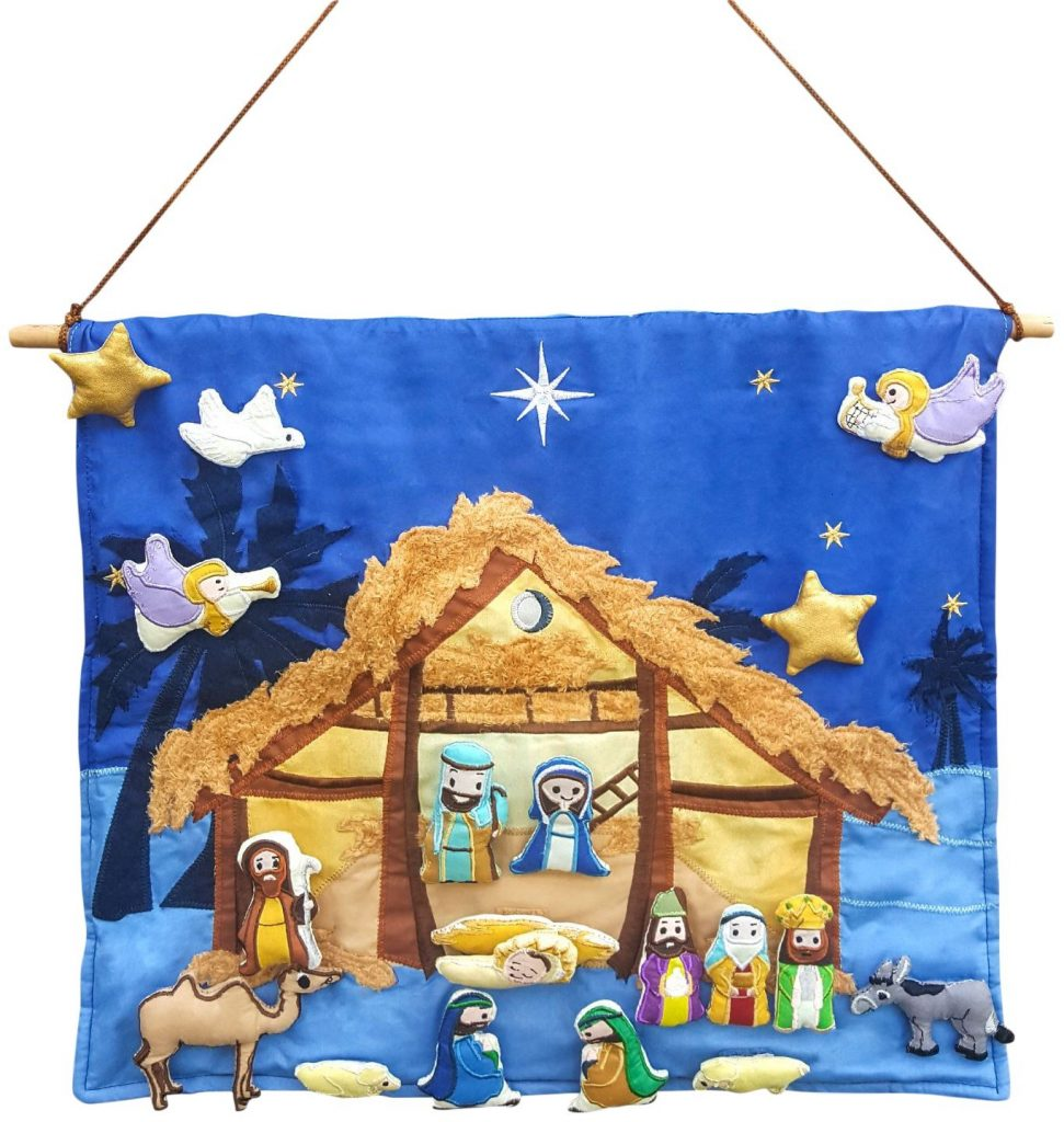 Fabric Nativity Set