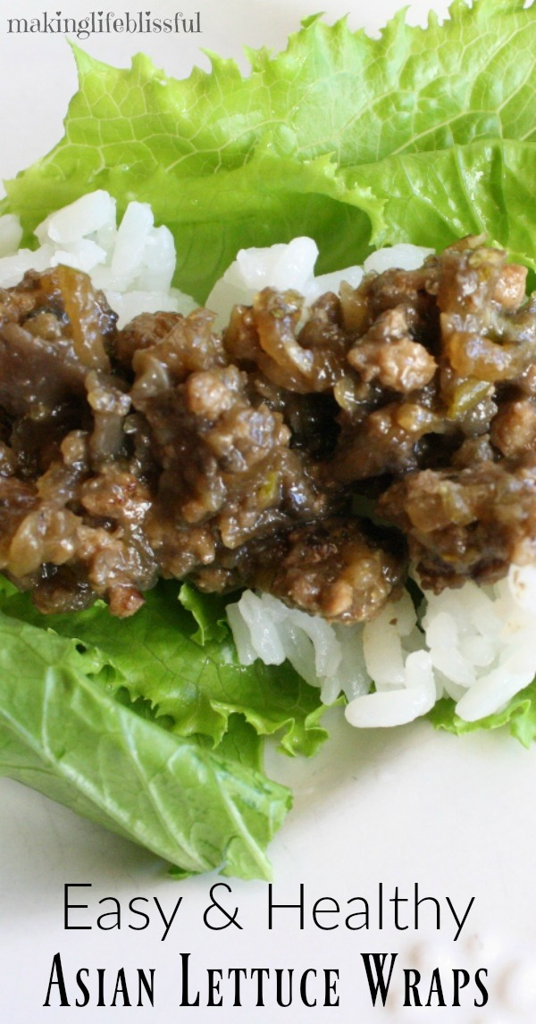 Easy and Healthy Asian Lettuce Wraps
