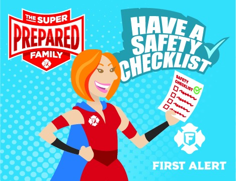 free printable fire safety activity sheets for kids and fire safety checklist