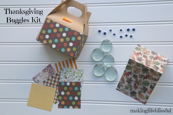 Thanksgiving Kindness Buggles Craft Kit