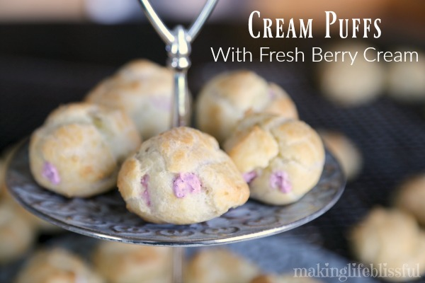 How to Make Cream Puffs Recipe Tutorial
