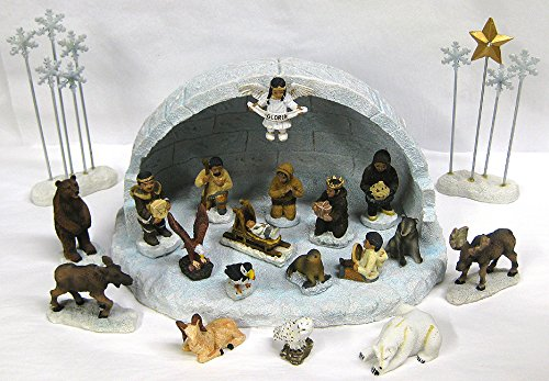 Alaska Nativity Set