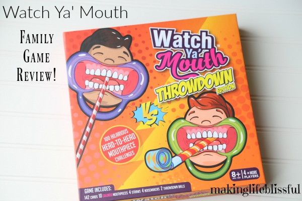 Watch Ya Mouth Throwndown Game Review