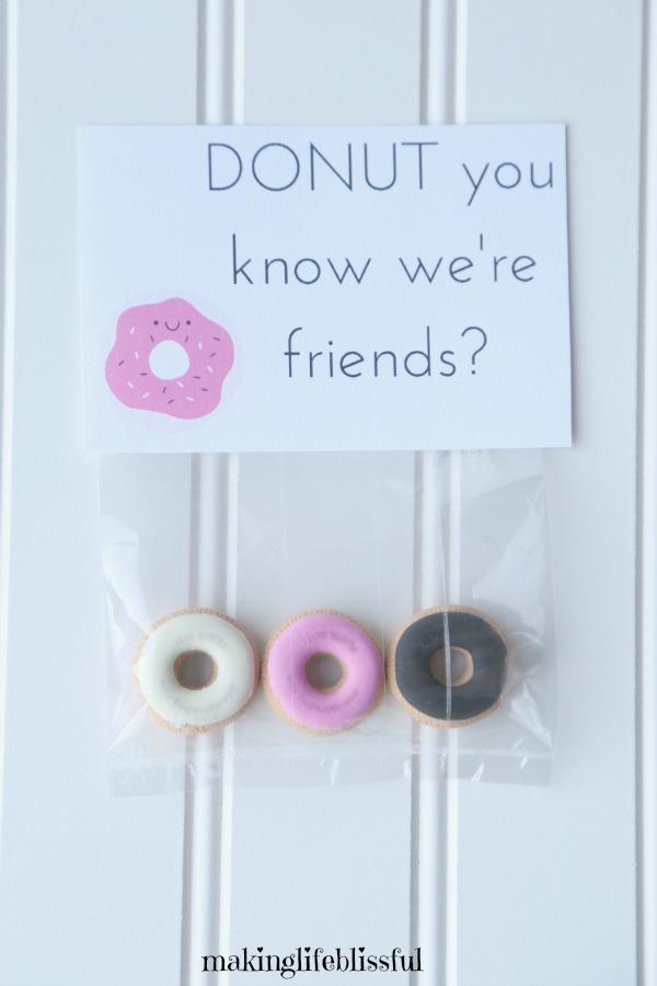 Donut Valentine Party Printables