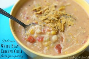 White Bean Chicken Chili from your pantry!