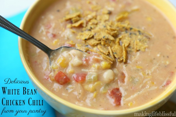 Pantry White Bean Chicken Chili