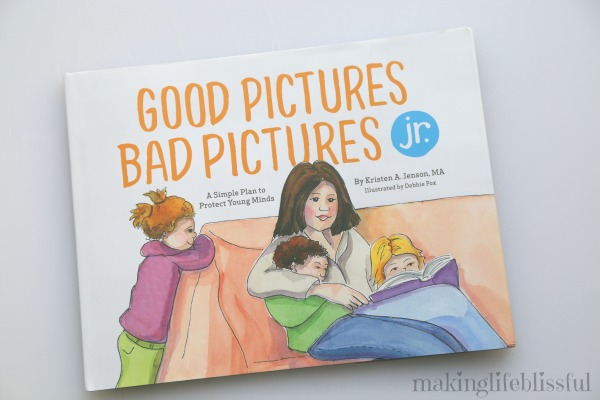Good Pictures Bad Pictures Jr book review