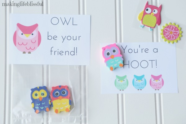 OWL Be Your Friend Printables
