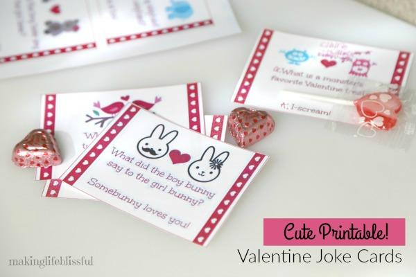 Valentine Jokes and Bingo Game