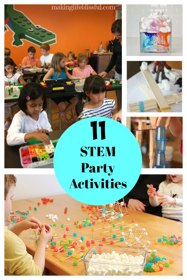 STEM Birthday Party Ideas!