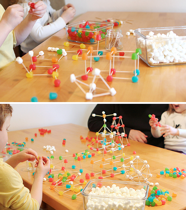 Gumdrop Building STEM Party Idea
