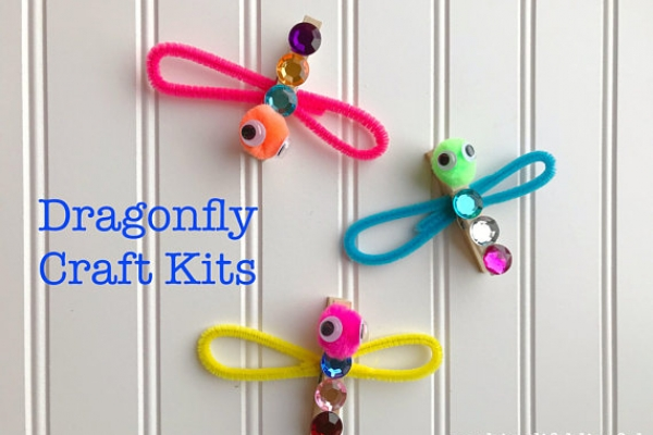 Easy Dragonfly Kids Craft