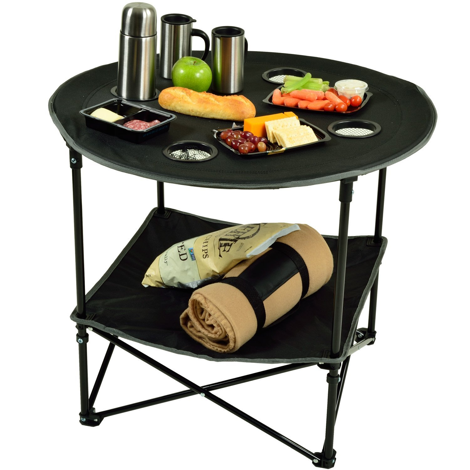 Folding Picnic Table for camping and tailgating