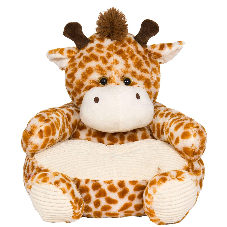 Children's Plush Animal Chair