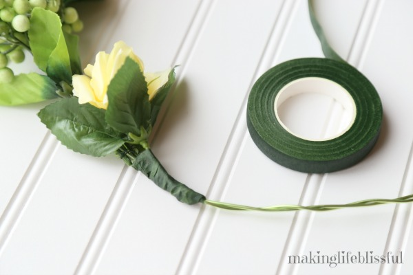 Dollar Store Summer Wreath tutorial