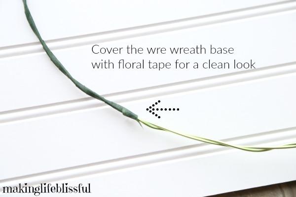 Dollar Store Wreath tutorial