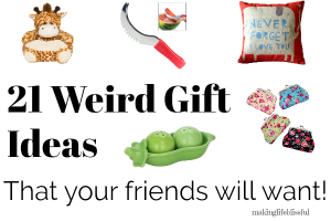 21 Weird Gift Ideas That Your Loved Ones Will Want!