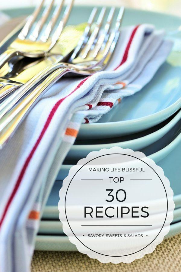 30 Top Recipes!