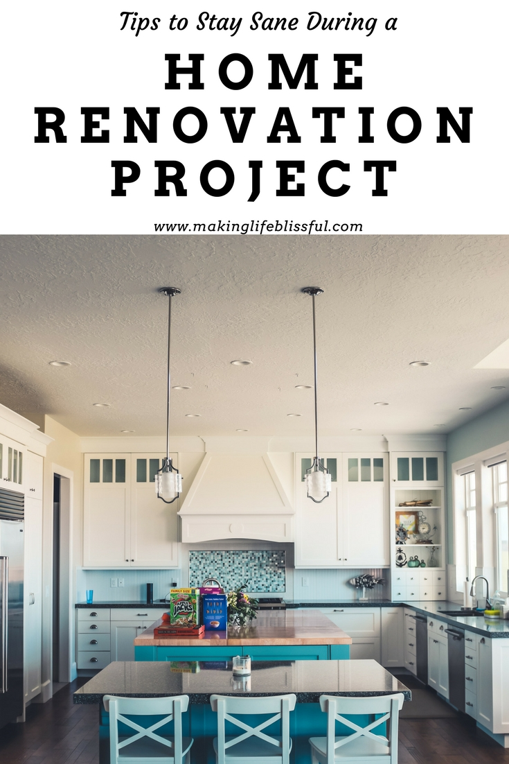 How to Stay Sane During a Home Remodel