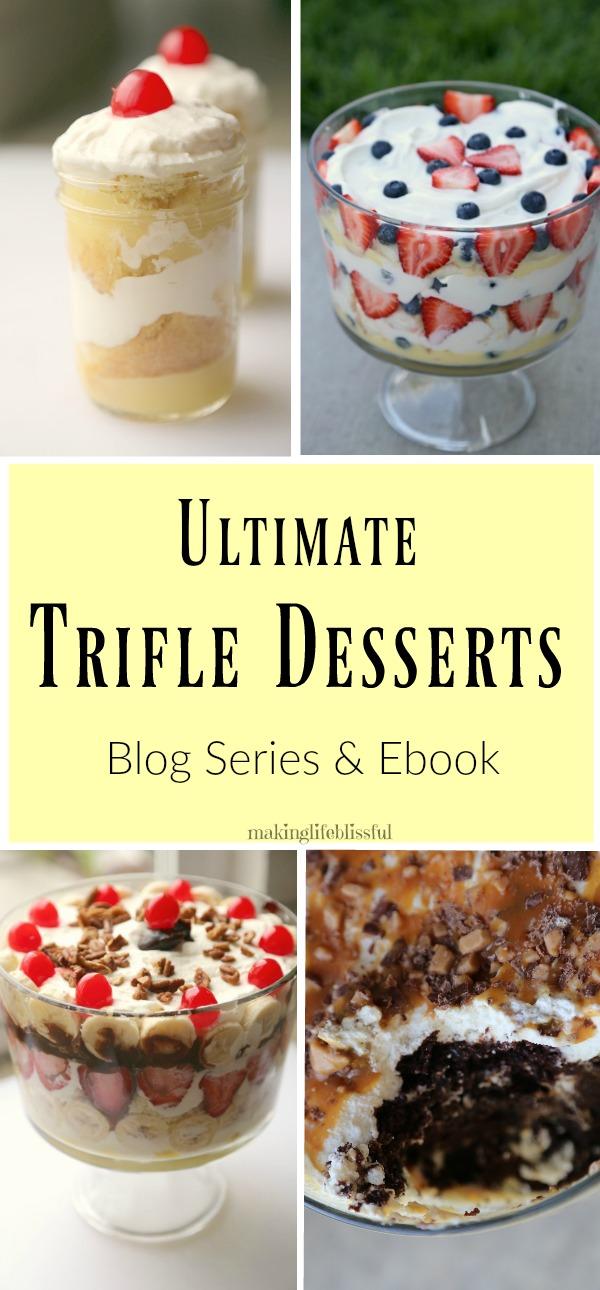 ultimate trifle recipe ebook