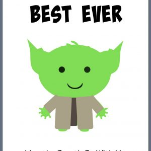 YODA Star Wars Cards