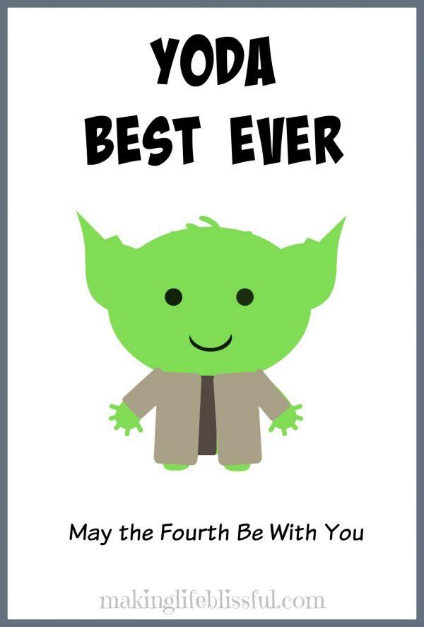 YODA Star Wars Cards