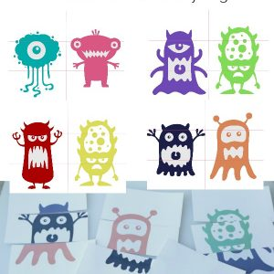 Mix and Match Monster Printables