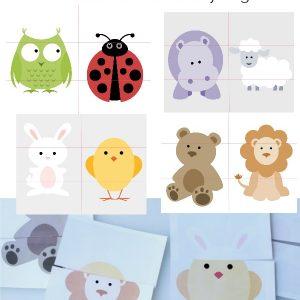 Printable Animal Puzzles