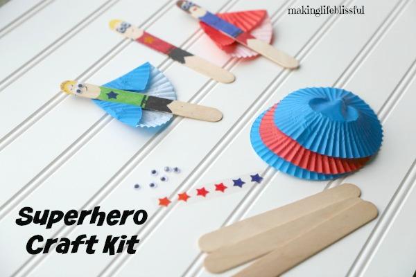 Superhero Craft Kits
