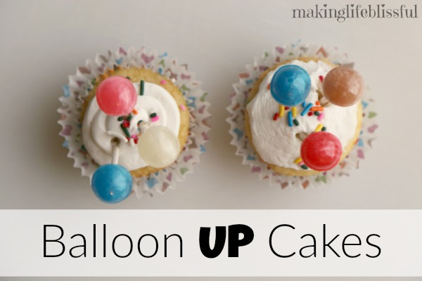 Balloon Cupcakes for Disney UP party