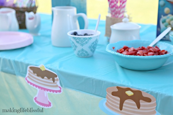 EASY Pancakes and Pajamas Party Ideas