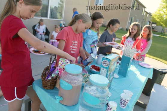 Easy Pancake and Pajamas Birthday Party